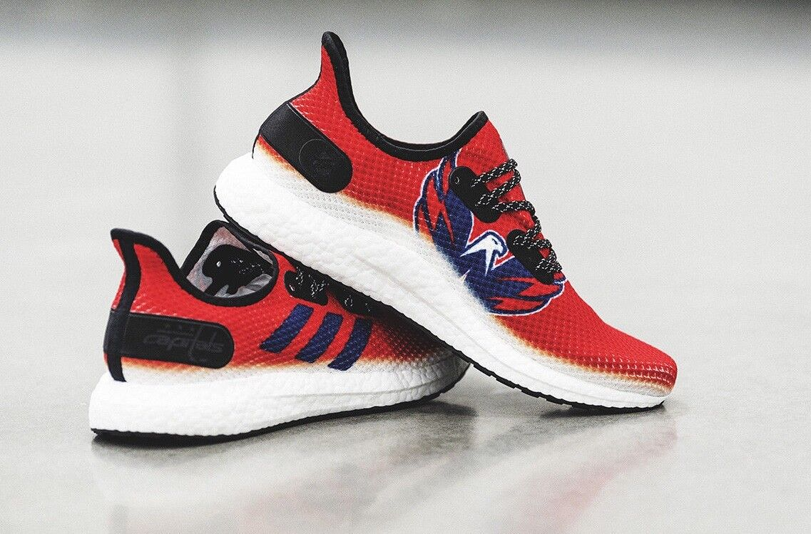 Adidas SPEEDFACTORY AM4NHL Washington Capitals Stanley Cup shoes - Size 11