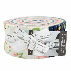 Moda-Orchard-Jelly-Roll-2-5-034-Fabric-Quilting-Strips-April-Rosenthal-24070JR-J13