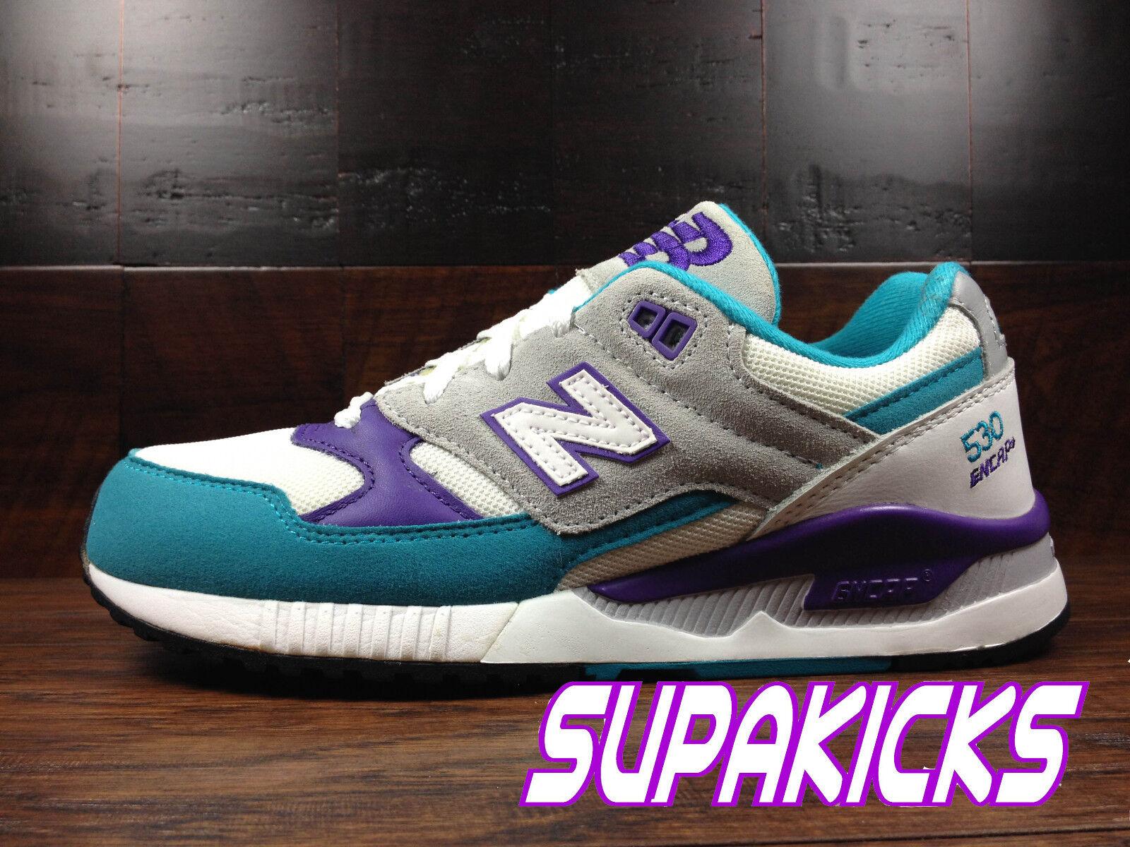 New Balance Damenschuhe (WEISS (W530AAA) 90's Running REMIX (WEISS Damenschuhe / Teal / Purple) Damenschuhe c65d8d