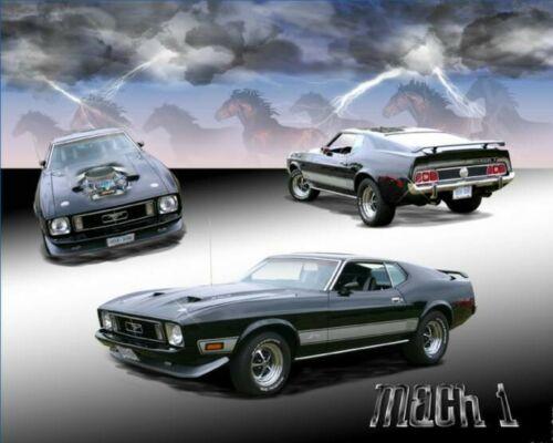 Mach1 Mustang Car Mouse Mat