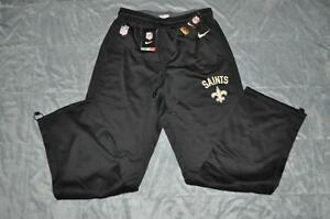 exclusive shoes discount sale huge inventory Details about New Orleans Saints Mens Nike Circuit Sideline Performance  Sweat Pants Black NWT