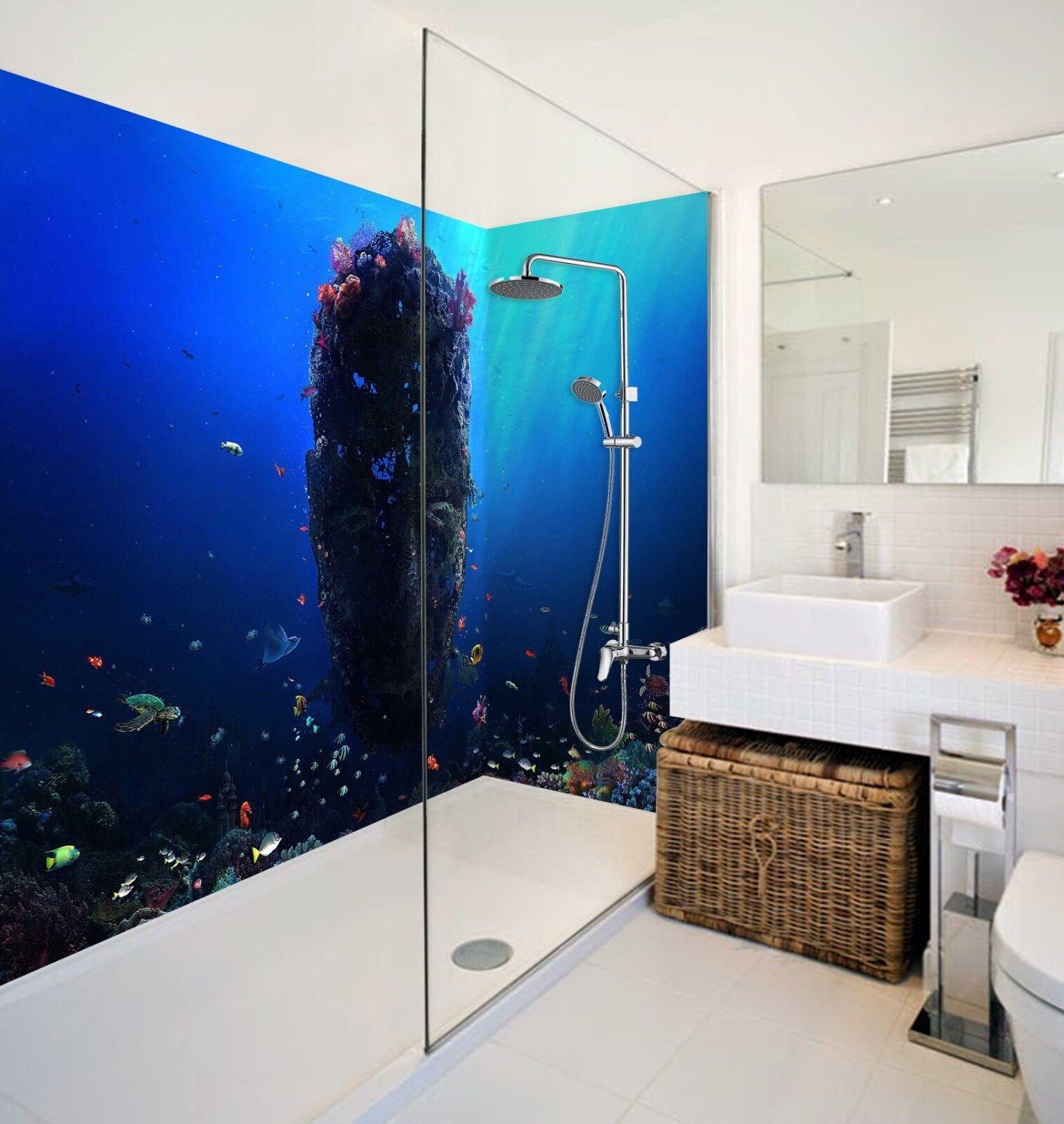 3D Ocean Scenery 4227 WallPaper Bathroom Print Decal Wall Deco AJ WALLPAPER AU