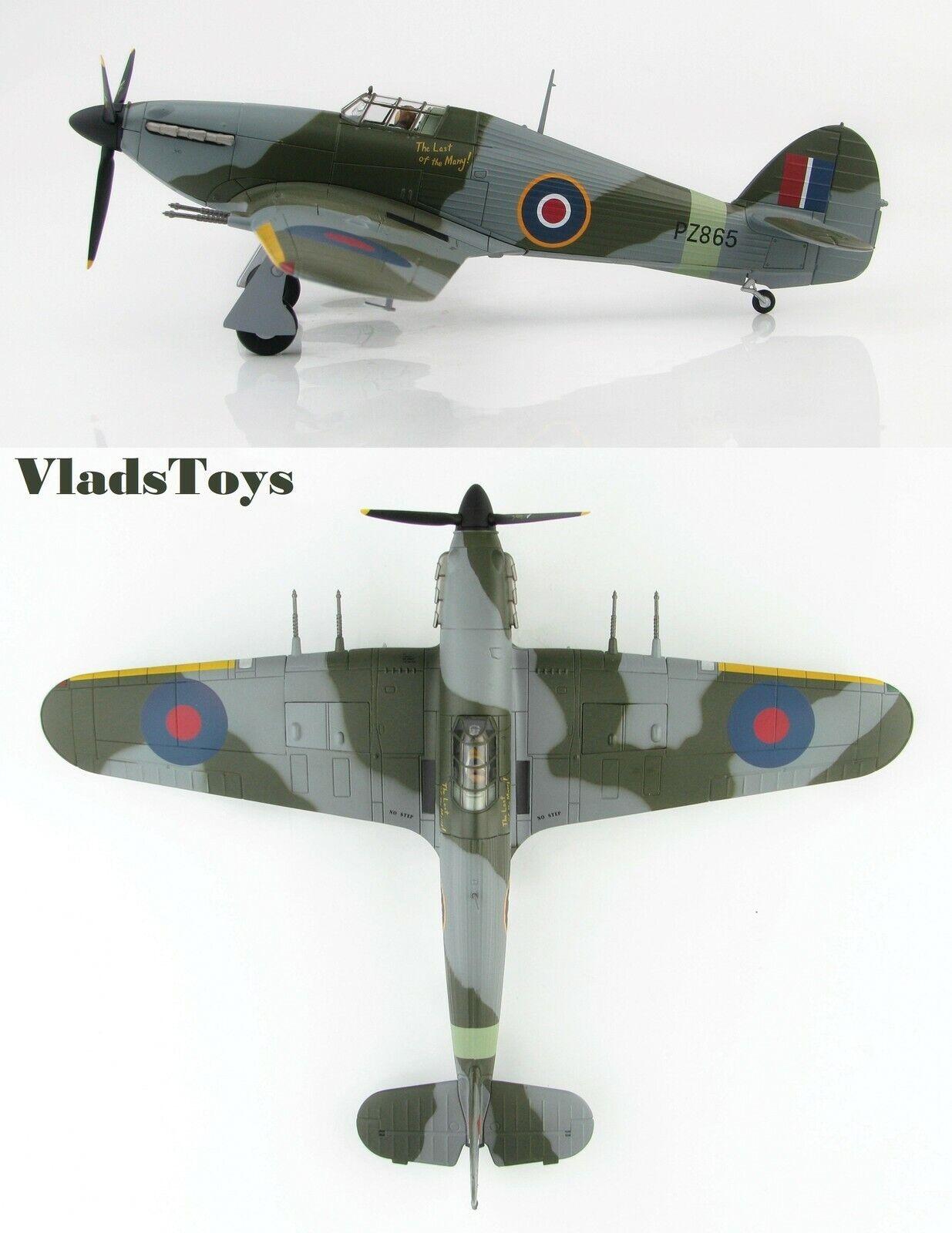 Hobby Master 1 48 Hawker Hurricane Mk II PZ865 Last of the Many Langley HA8650