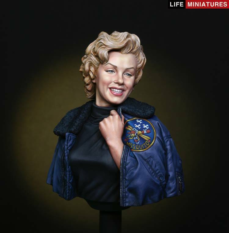 Life Miniatures Bye Bye Baby Marilyn Monroe 1954 1 10th Bust Unpainted kit