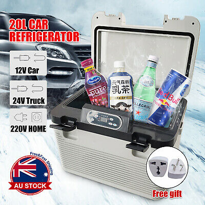 Details about  20L Car Home Use Mini Fridge Portable Refrigerator Cooler Warmer Camping Truck *
