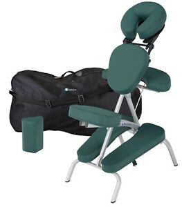 Earthlite-Vortex-Lightweight-Portable-Massage-Chair-Package-with-Carry-Case-NEW