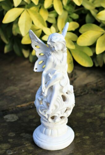 Garden Ornament Fairy Angel Cherub Home Decor Sculpture 22cm
