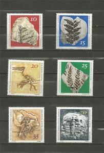EAST-GERMANY-1973-Natural-History-Museum-Pieces-MINT-UNHINGED-SET
