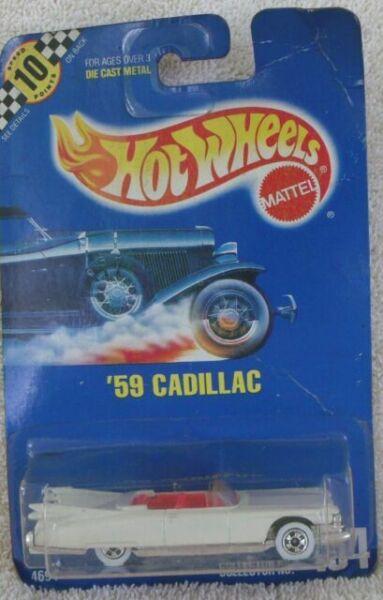 9989 hot wheels Mainline 1991 /'59 Caddilac Eldorado Convertible collector 266