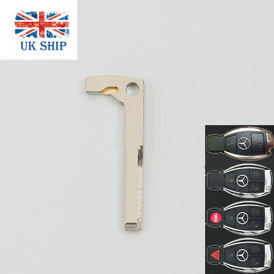 Smart Remote Key Keyless Replacement Uncut Blade Blank For Mercedes Benz C