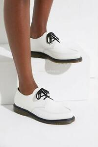 Doc-Martens-Willis-Creepers-Smooth-White-Womens-Size-6-New