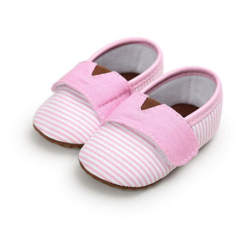 Infant Toddler Baby Shoes Boys Kids Fashion Striped First Walkers Bebe Loafers