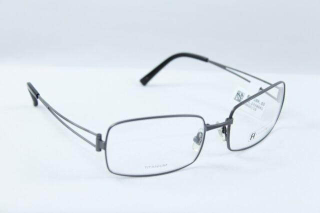Freudenhaus Brillenfassung Gestell KLassic Force 3 M.GUN 57() 18-135 Titanium