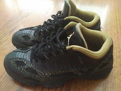 los angeles 608e8 bdb3b Nike Air Jordan 11 Retro 11 Low IE Black/Gold # 306008 Mens 10/Womens 12 |  eBay