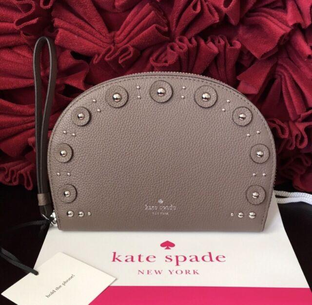 NWT Kate Spade Shara Larchmont Avenue Phone Wristlet Black WLRU5227