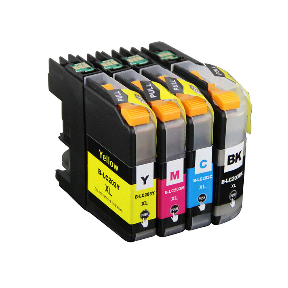 16 Pack Hi Yield Ink Set for Brother Series LC201 MFC J680DW J880DW J885DW