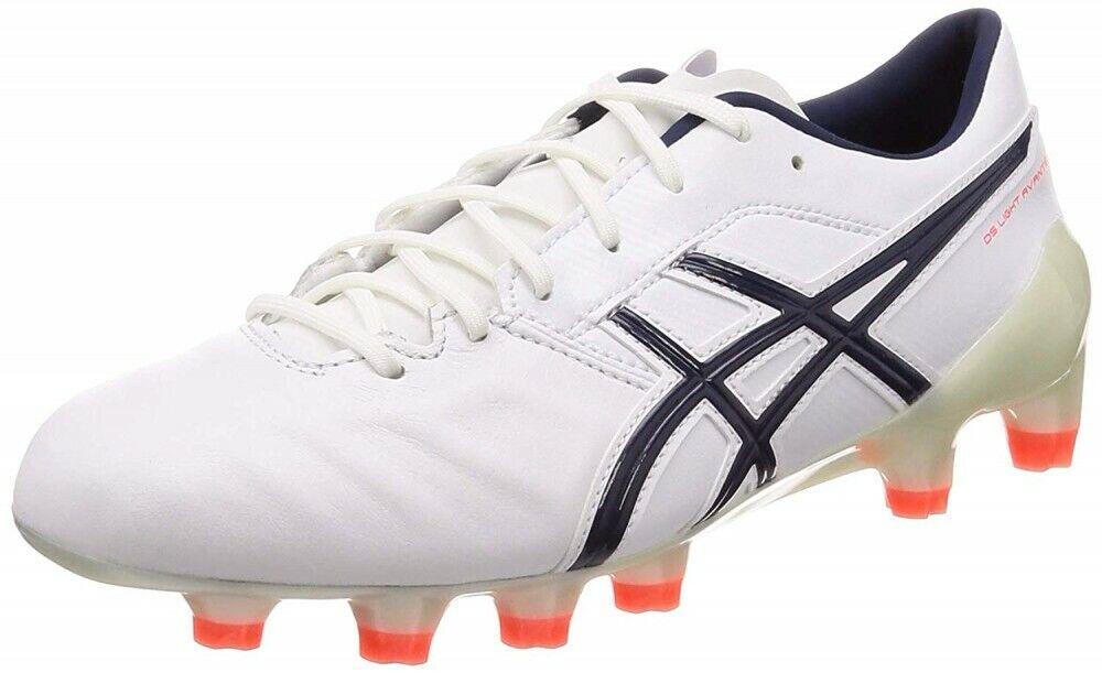 Asics Fußball Stollen Schuhe DS Licht Avante 1101a009 Weiß Peacoat Neu