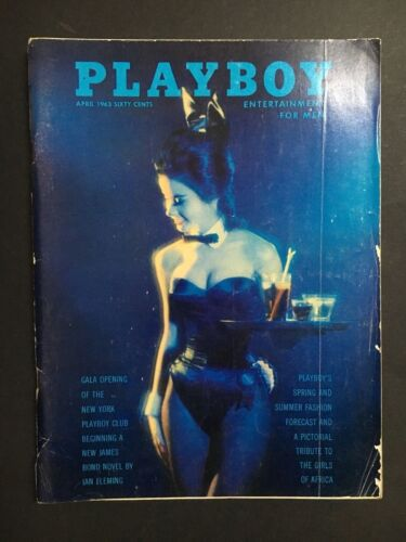 PLAYBOY MAGAZINE 1963 APRIL