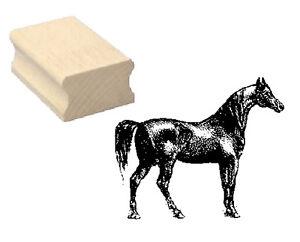 Motivstempel « PFERD 13 » Motiv Stempel Basteln Scrapbooking horse Reiten Reiter