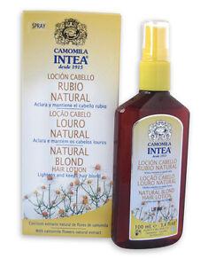 intea organic camomile natural hair lightening spray go