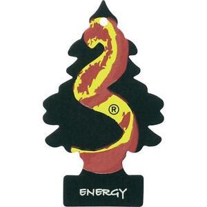 3x Desodorisant arbre magic  Energy Sentiment pour auto voiture