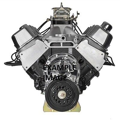 ALUMINUM HEAD BIG BLOCK CHEVY ENGINE (TURN KEY 580 HORSEPOWER PUMP GAS MOTOR)