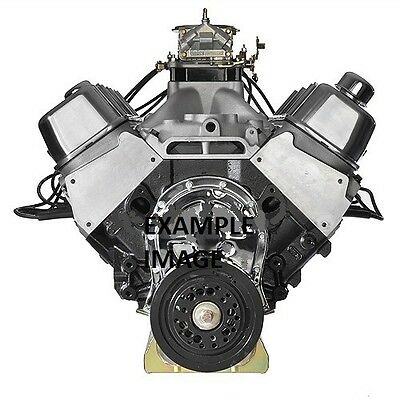 ALUMINUM HEAD BIG BLOCK CHEVY ENGINE (TURN KEY 580 HORSEPOWER PUMP GAS MOTOR)