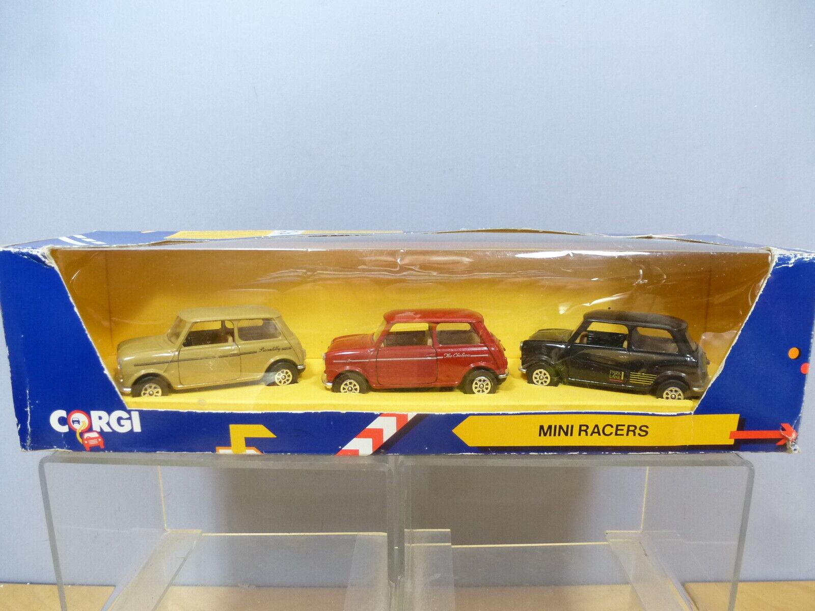 Corgi Modèle No.C18 1  Les MINI  Racers  édition 1990 VN En parfait état, dans sa boîte