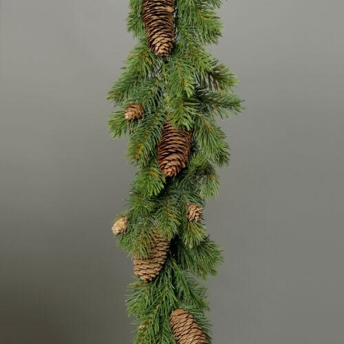Artificial fir garland with Real Pine Cones 170cm//170 Fir Lace Garland
