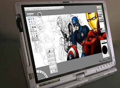 Fujitsu Wacom Illustration Tablet Laptop  ~ Cintiq Bamboo sdf