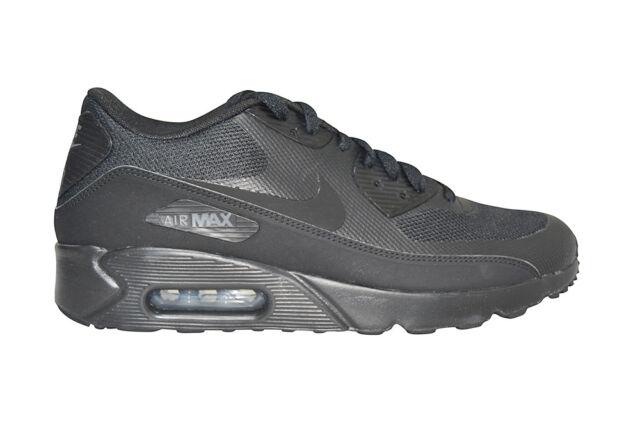Mens Nike Air Max 90 Ultra 2.0 Essential 875695 002 Black Trainers