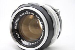 Nikon-Nikkor-S-Auto-1-1-4-50mm-Lens-Very-Good-is027f
