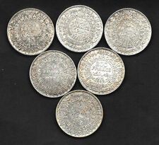 200 Francs 1953-1372h MAROC. Protectorat Français. Mohammed V°. Argent