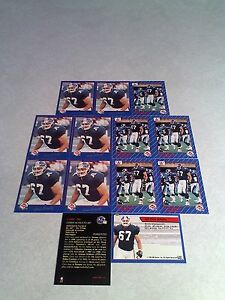 Chris-Schultz-Lot-of-21-cards-3-DIFFERENT-Football-CFL