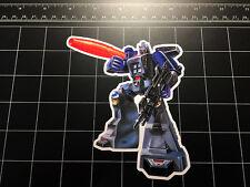 Transformers G1 Galvatron box art vinyl decal sticker Decepticon toy 1980's 80s