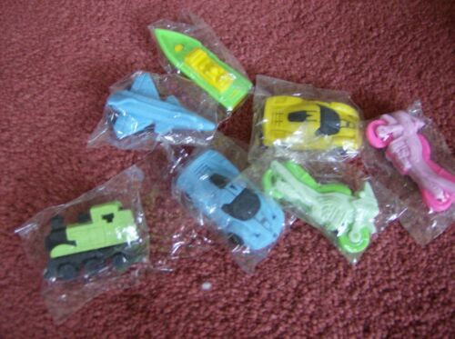 Party bag fillers 10 x single novelty erasers.