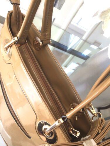 Chic Woman Paillettes New Label and Taupe Tres Sublime Handbag Rigid C417FqC