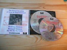 CD VA Great Vocalists Of Jazz - Andrew/Boswell Sisters  2CD (40 Song) HISTORY