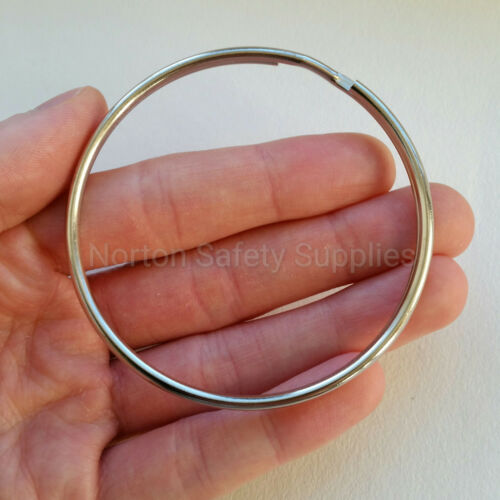Extra Large Jailers Fob / Keyring / Split Ring 76mm (BUY 2 GET 1 FREE)