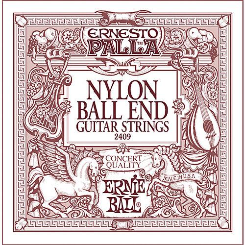 Ernie Ball 2409 Palla Nylon Classical Black /& Gold Ball End Guitar Strings 28-42