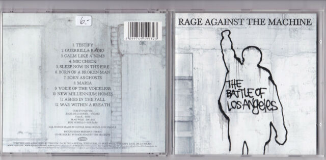 RAGE AGAINST THE MACHINE -The Battle Of Los Angeles- CD