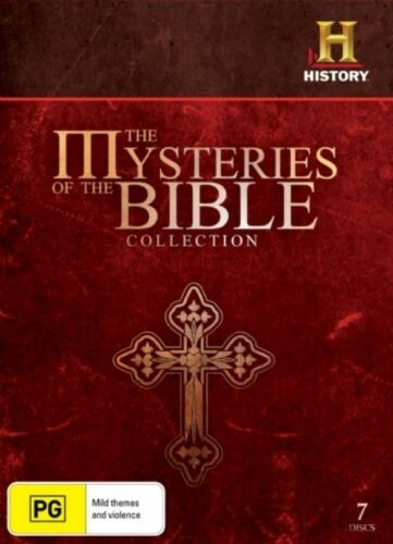 1 of 1 - The Mysteries Of The Bible Collection (DVD, 2009, 7-Disc Set) - New