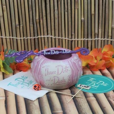 Humorvoll Drei Punkte Und A Armaturenbrett Pink See Urchin Tiki Becher Kraken Swizzle
