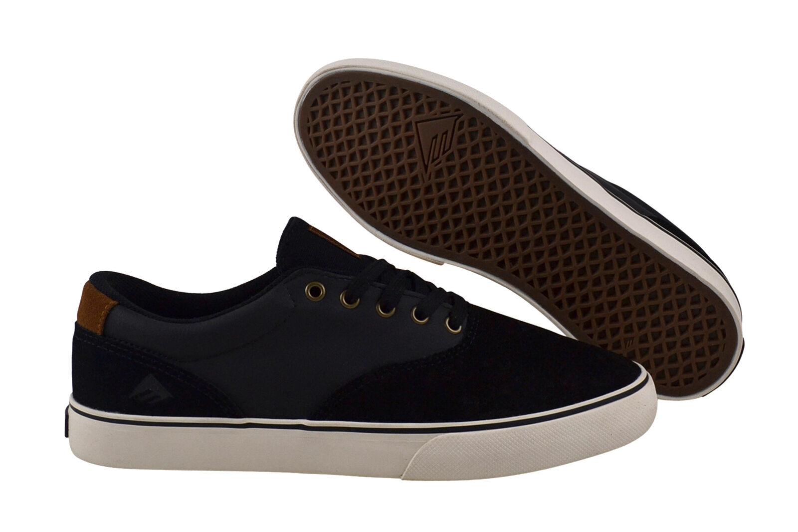 Emerica Provost Slim Vulc black/brown Sneaker/Schuhe schwarz