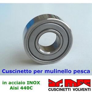 Cuscinetto-per-mulinello-pesca-in-acciaio-inox-Aisi-440C-confezioni-da-10-pz