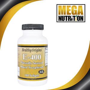 Healthy-Origins-E-400-400IU-180-Softgels-Skin-Antioxidant-Mixed-Tocopherols