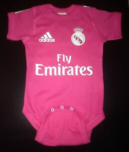 real madrid baby bodysuit