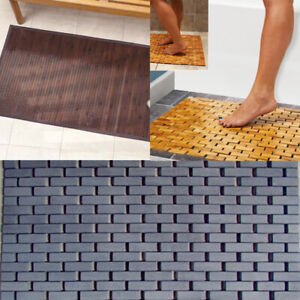 Wooden-Natural-Bamboo-Bathroom-Shower-Anti-Slip-Mat-Slatted-Duck-Board
