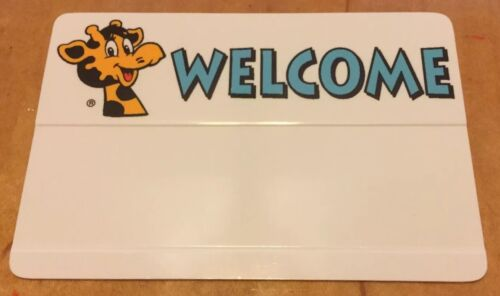 1990s Badge LOOK! Toys R Us VINTAGE Name Tag Geoffrey Giraffe COLLECTIBLE