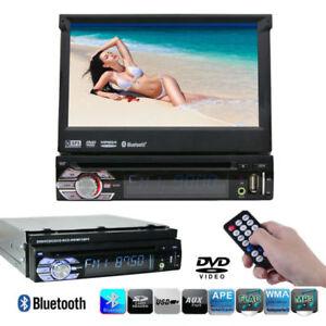 1Din-DVD-Player-7-034-Pantalla-tactil-Car-Estereo-Wince-GPS-Bluetooth-USB-Autoradio
